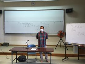 沖縄県立久米島高校にて講演しました